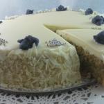 Torta - Caprese Blueberries