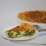 Quiche Spinach Fetta (dish)