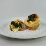 Quiche Spinach Fetta (single)